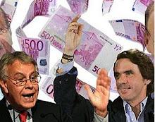 El Parlamento decide que las retribuciones de Aznar y González son correctas