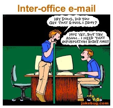 Funny and Interesting Emails: Inter-office e-mail