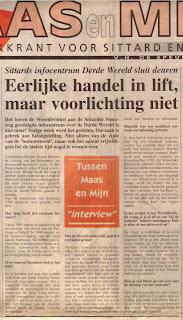 Maas en Mijn 23-12-1998 over Derde Wereld Info Centrum