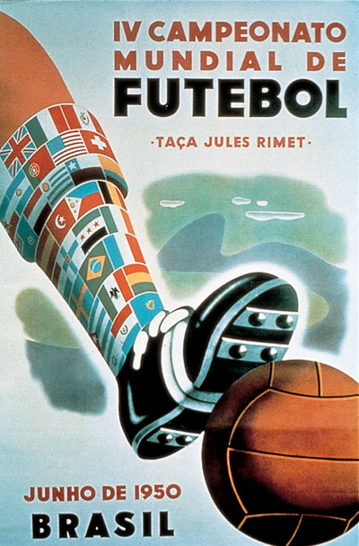 World Cup Logo Brazil. On 24 June 1950, hosts Brazil