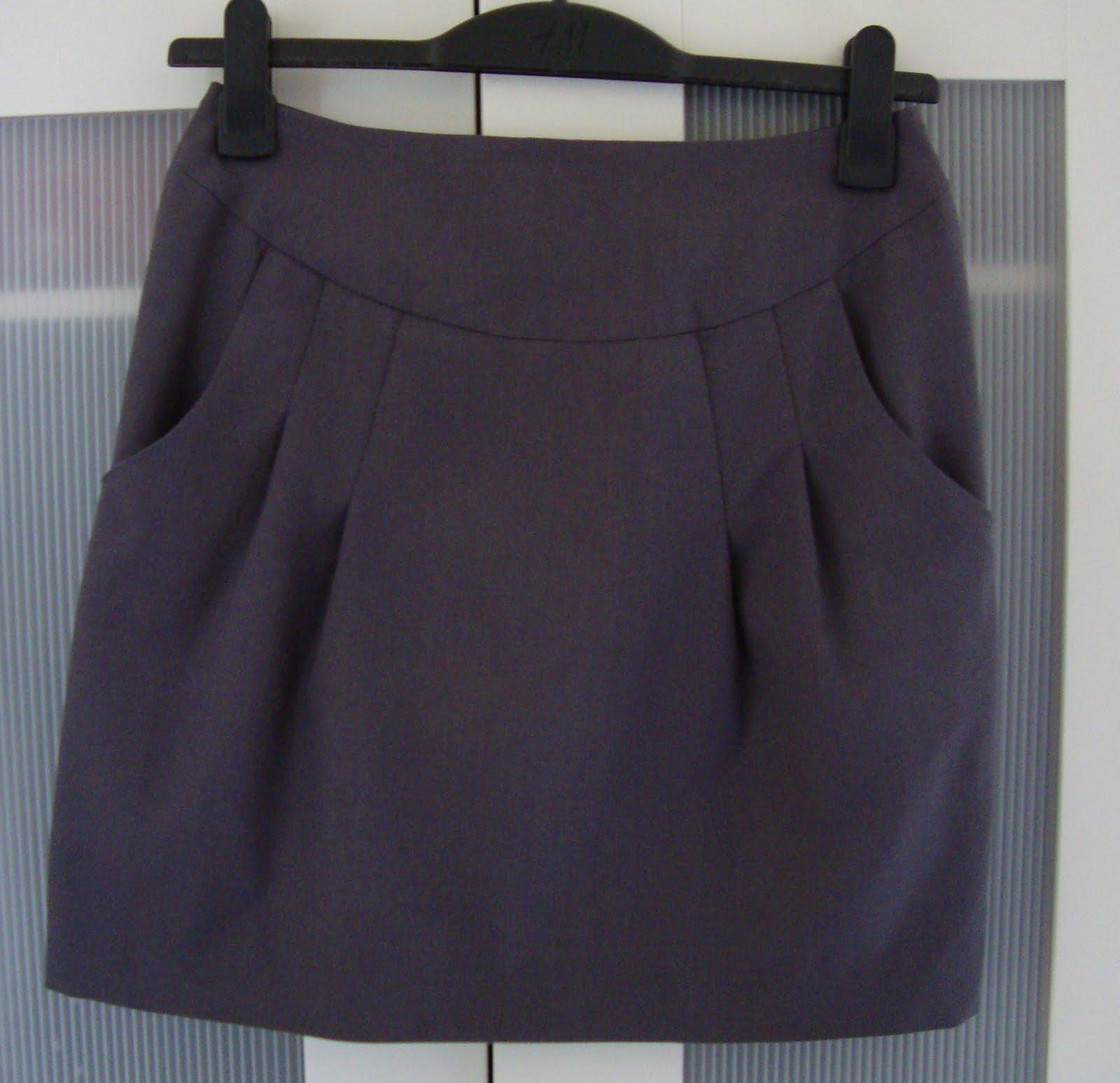 Выкройки юбка складки по бокам