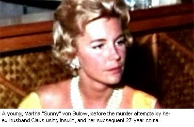 a discussion on the case of martha sunny crawford Nicknamed 'sunny' for disposition the daughter of utilities tycoon george crawford, sunny von bulow was born martha sharp crawford aboard a railcar in manassas, virginia, on sept 1, 1932, her family said her father died when she was 4 nicknamed sunny for her disposition, von bulow grew up in pittsburgh and new york city, raised by her mother.