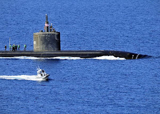 US Nuclear Sub Heads Towards Persian Gulf USN%2BUSS%2BAnnapolis%2BSSN 760%2BSouda%2BBay%2BCrete