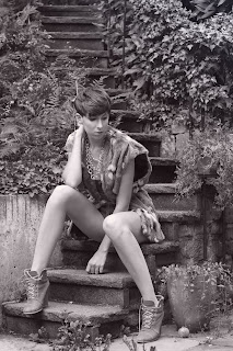 >Spontanes Shooting mit Katharina