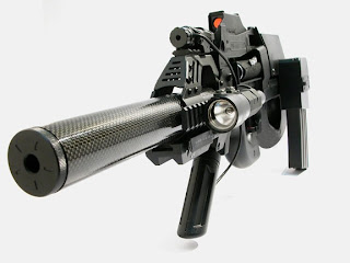 p90 savage hunter 5 Senjata Militer Modern yang Aneh