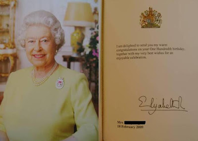 Birthday cards ideas birthday card new zealand birthday card from her majesty the queen bookmarktalkfo Choice Image