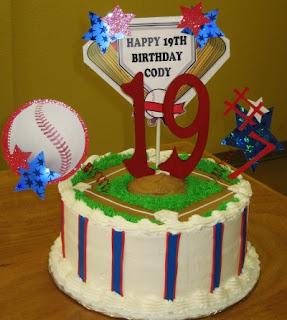 19 year old birthday cake