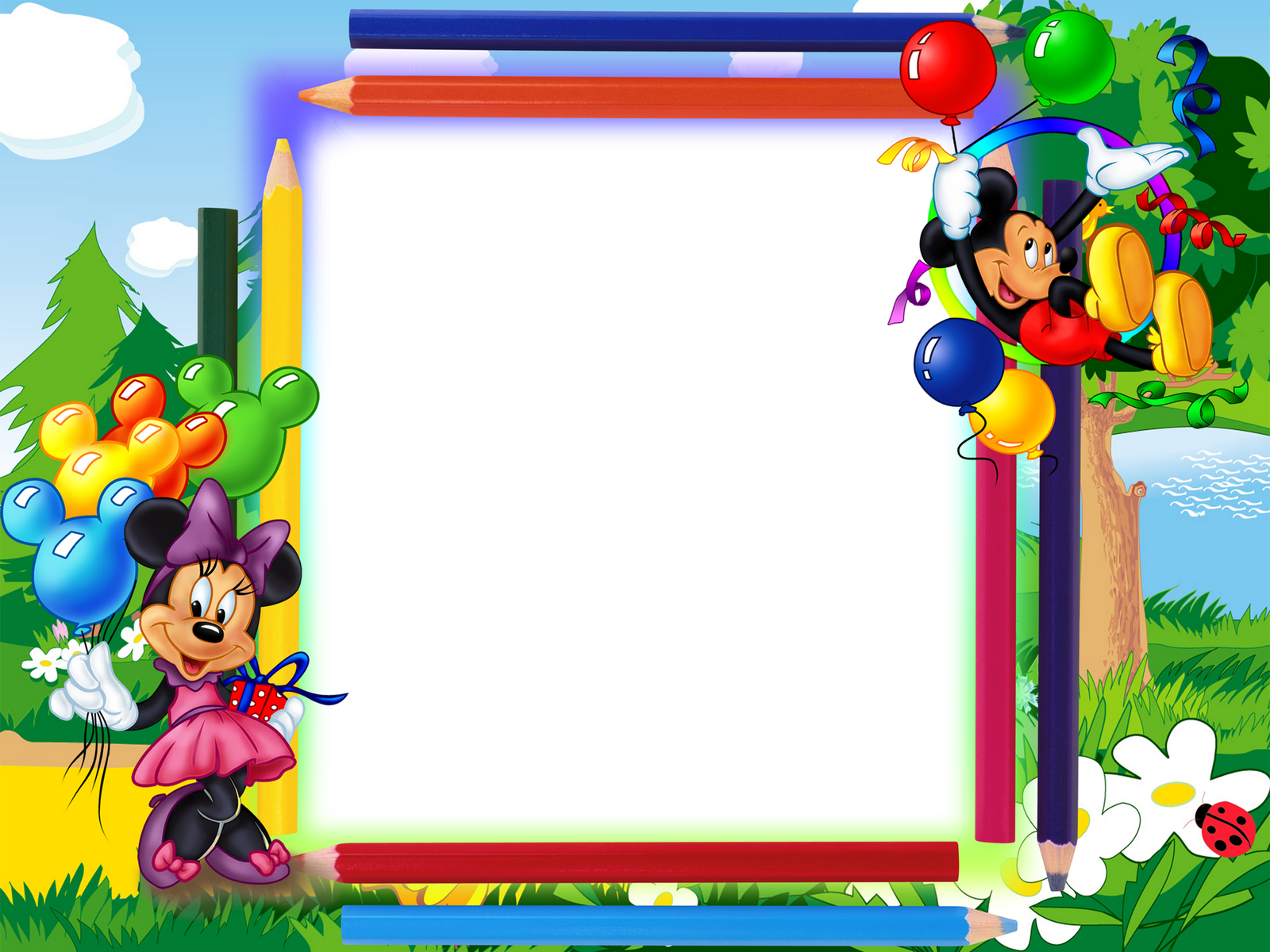 Mickey Mouse Borders Frames Free Download | Joy Studio Design Gallery ...