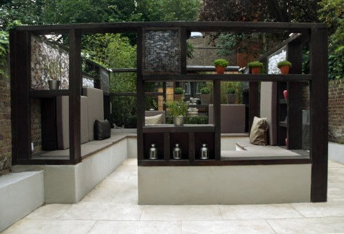 Outdoor Room Design Best With Modern Garden Design Photo