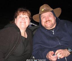 Me and Kathy Strain