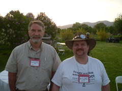Me and Dr. Jeff Meldrum at the Yakima Bigfoot Round-Up