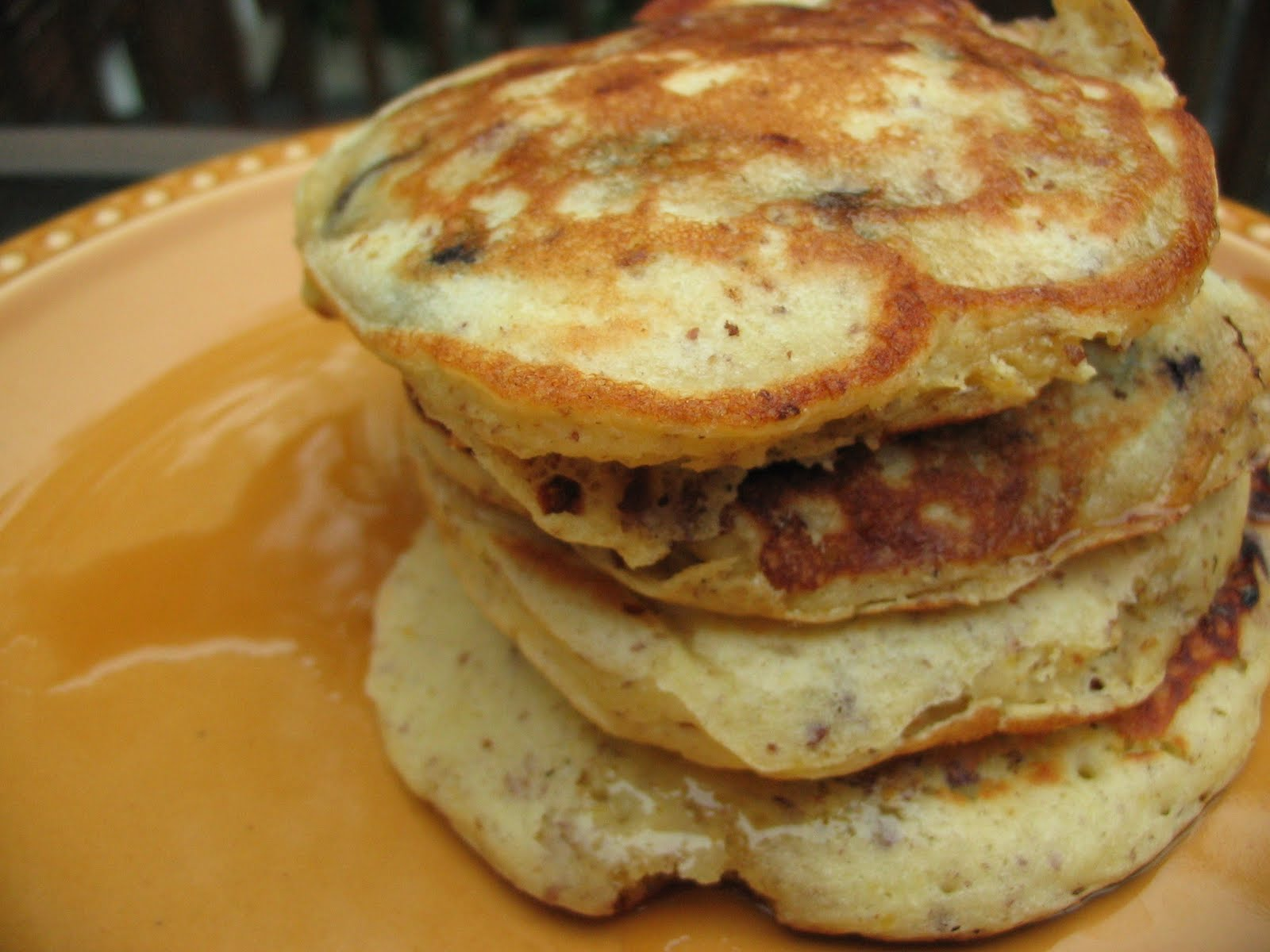 Prairie Lemon: Blueberry and Flax Pancakes