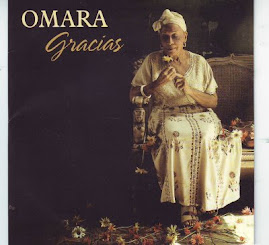 "ESTA ES LA PORTADA DEL NUEVO DISCO DE OMARA PORTUONDO : "" GRACIAS """