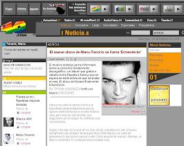 asi se informa en Internet en los 40.com de España