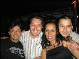 Eddy Bustamante,Juan Lecca,Nelly Tejada y Lucho Rodriguez