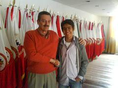 Con el Heroe Alfonso Plazas Vega !!