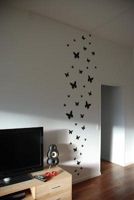 Sværmen af sommerfugle