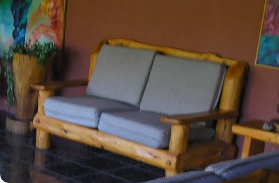 Muebles artesanales sillones rusticos en madera cipres - Muebles artesanales de madera ...