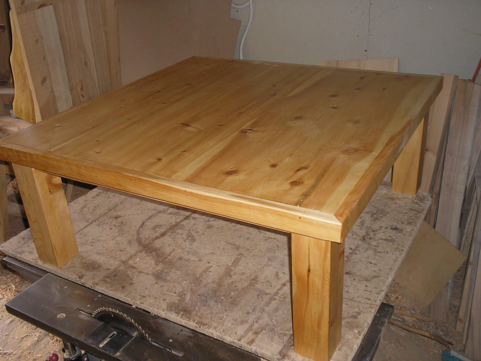 Muebles artesanales mesas de cipres for Muebles artesanales