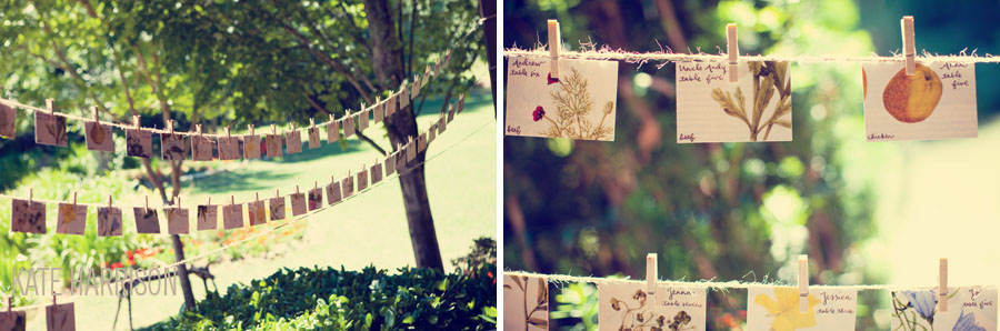 Adore this tree inspired invitation suite Garden inspired place cards and