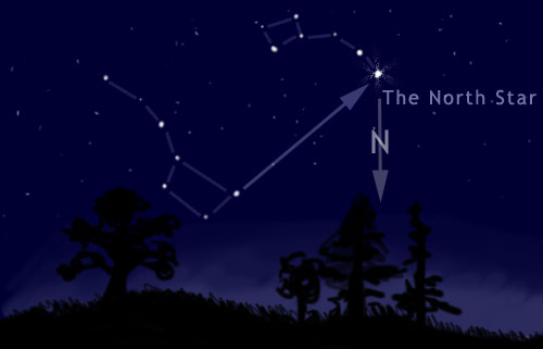 find the north star polaris - photo #8