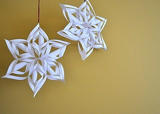 Felt Cafe 3D Snowflakes