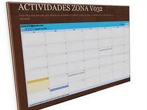 BLOG DE ACTIVIDADES DE LA ZONA V032