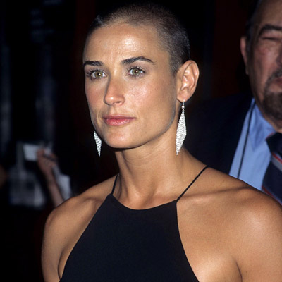 demi moore shaved head You can download this photo absolutely free with our 7 day Free Trial!