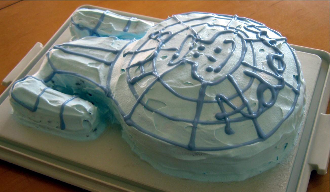5 daughters Star Trek Cake