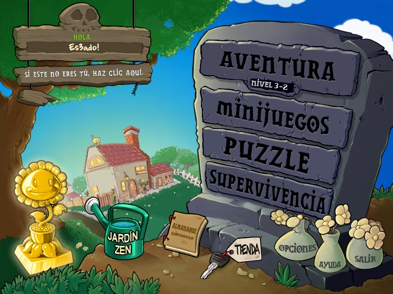 Plantas vs Zombies Español [Portable]