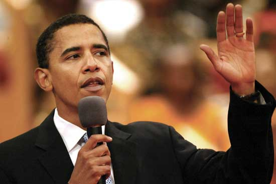 Barack Obama - Today: Barack Obama&#39;s Political Career---&gt;&gt; President