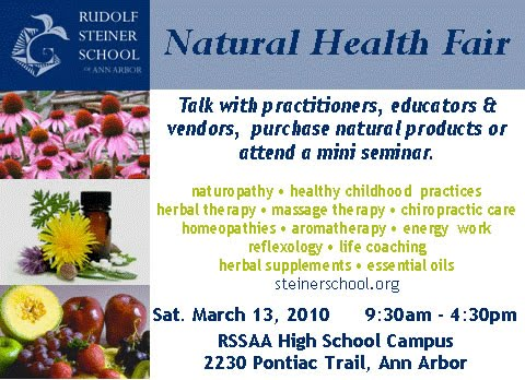 Ann Arbor Natural Health Fair
