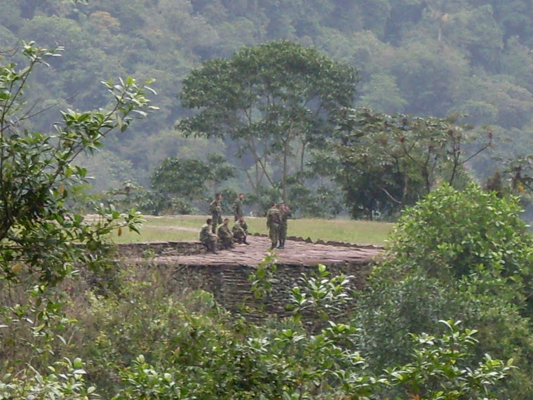 La presence militaire à Ciudad Perdida