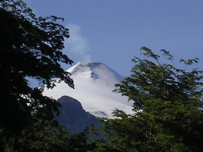 Le Villarica à Pucon