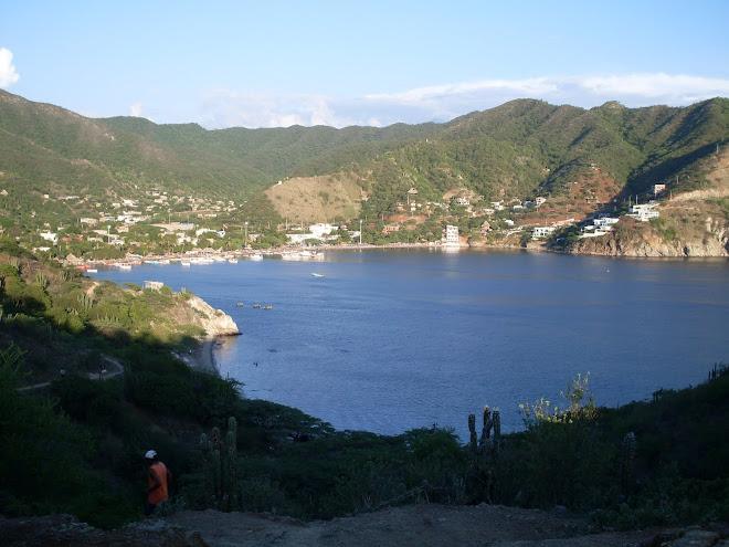 La baie de Taganga et les départs pour Tayrona