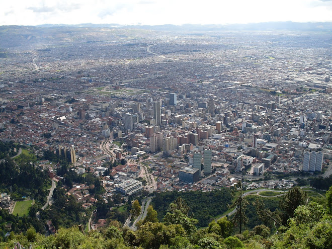 Une vue de Bogota