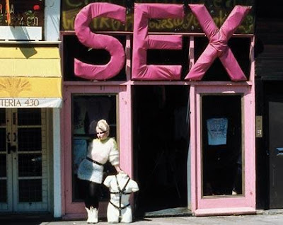 sex shops in san gabriel valley. It was called SEX, among other things.