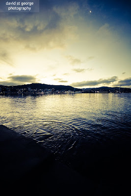 Wellington Harbour Twilight David St George Photography