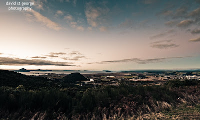 Lake Taupo New Zealand Twilight Landscape David St George Photography