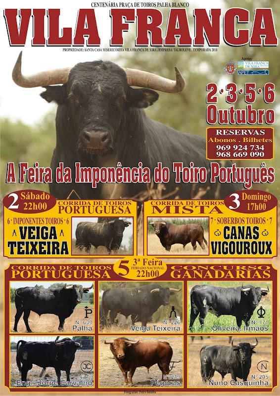 Levesinho anuncia toiros para Feira de Outubro em Vila Franca title=