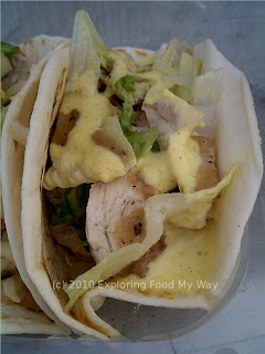 Chicken Confit Taco