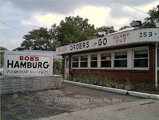 Exterior of Bob's Hamburg