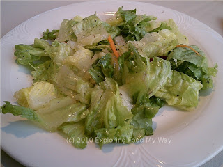 Salad with Orange Basil Vinaigrette