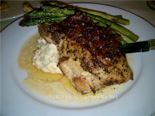 Creole Stuffed Grilled Pork Chop