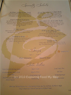 Edgar's Menu Page 5