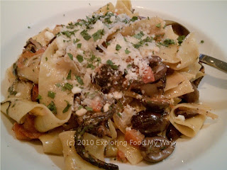 Pappardelle with Grilled Octopus