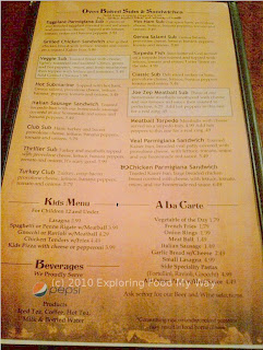 Monte Carlo's Menu Page 4
