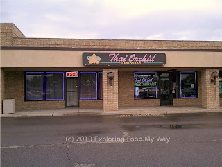 Storefront of Thai Orchid Restaurant