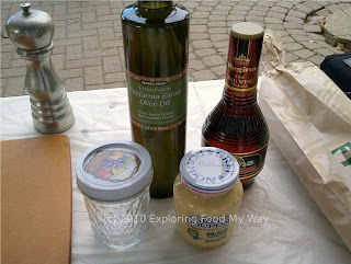Red Wine Vinaigrette Ingredients