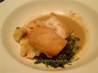 Seared Grouper with Lobster Gnocchi